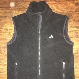Men's EMS black fleece vest